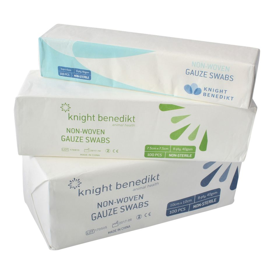 Knight Benedikt Gauze Swabs 8-ply